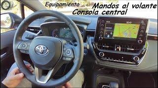 Toyota Corolla Feel! 2019 180H: Mandos al volante y consola central | Hatchback | Review