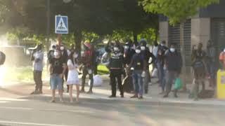 Decenas de inmigrantes se escapan del confinamiento en el IFAB de Albacete