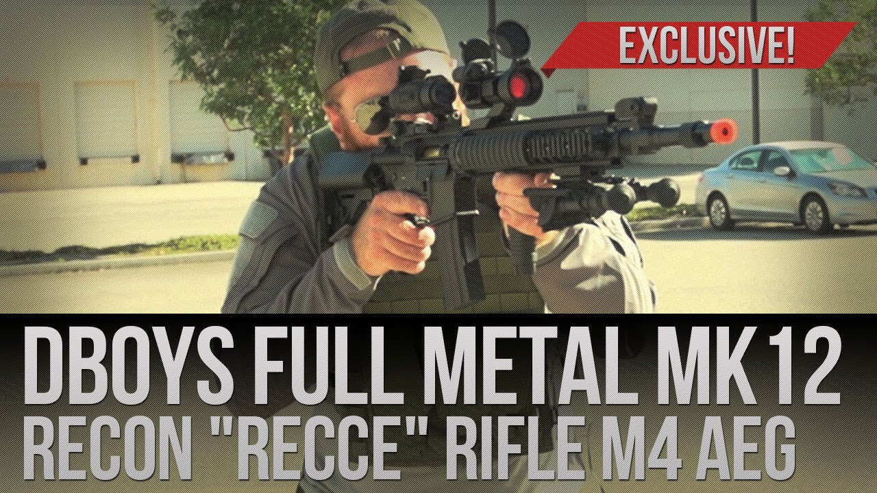 Airsoft Megastore Exclusive! FULL METAL DBoys MK12 Recon Recce Rifle