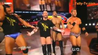 WWE RAW - 16.5.11  Nexus vs Big Show & Kane