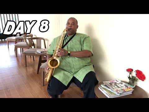 Day 8 Lucid dreams practice before my 1st Tenor Sax Studio Recording