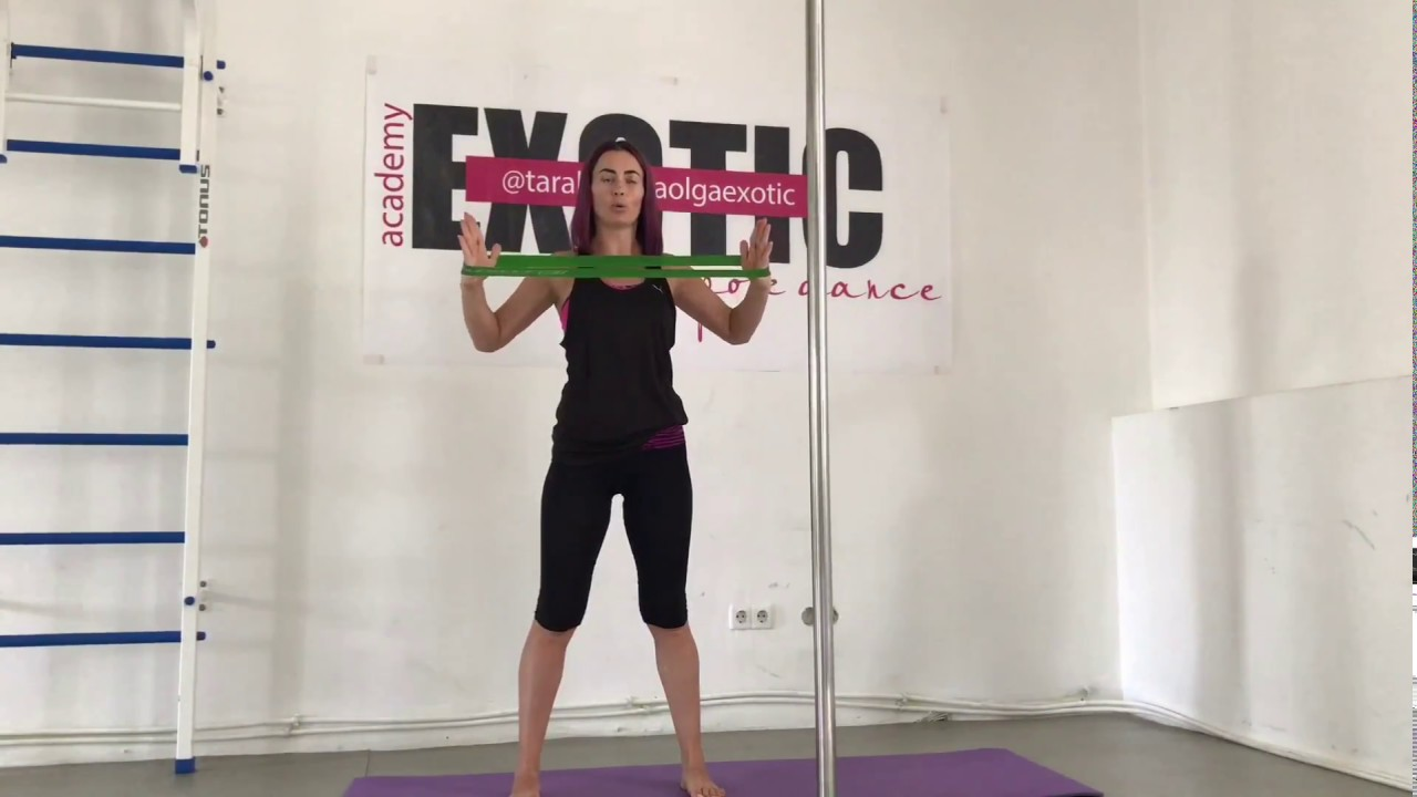 Упражнения с резинкой для рук - YouTube