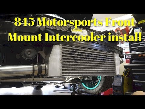845 Motorsports Front Mount Intercooler install- Hyundai Veloster Turbo