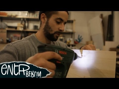 Berliner Hocker - Open Design Furniture Tutorial // DIY