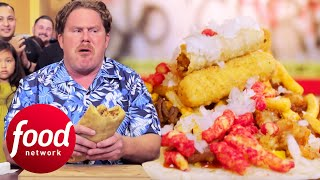 Casey Webb Goes Head-To-Head With A 17lbs Zombie Burrito | Man v Food