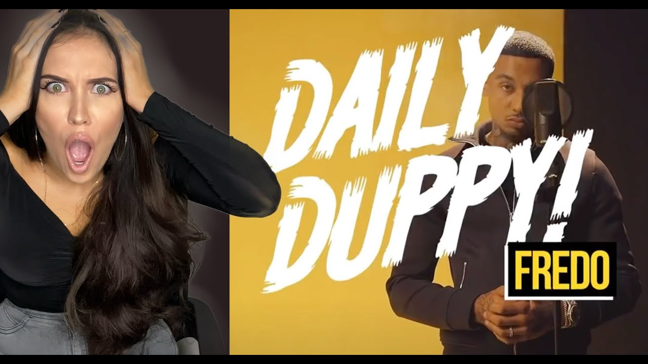 FEMALE DJ REACTS TO UK MUSIC ?? Fredo - Daily Duppy | REACTION ?