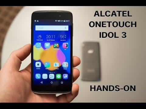 Alcatel OneTouch Idol 3 Hands-on: two sizes, sub-$300 price