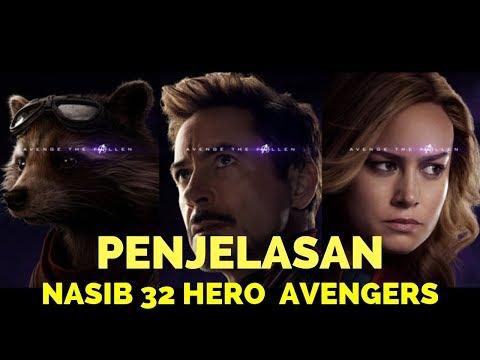 Nasib 32 Karakter Avengers Akhirnya Terungkap || Rahasia Avenge The Fallen!