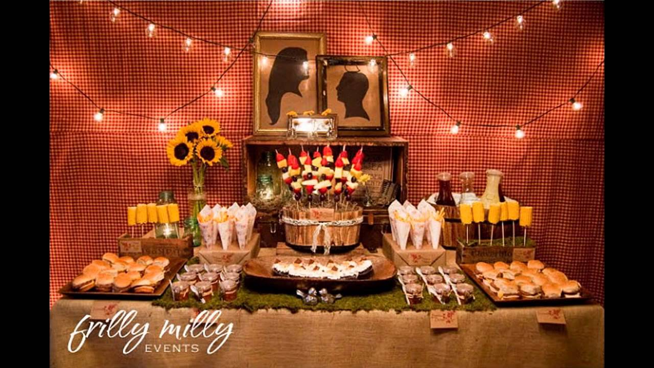 Couples themed wedding shower decorations ideas youtube for Decoration ideas