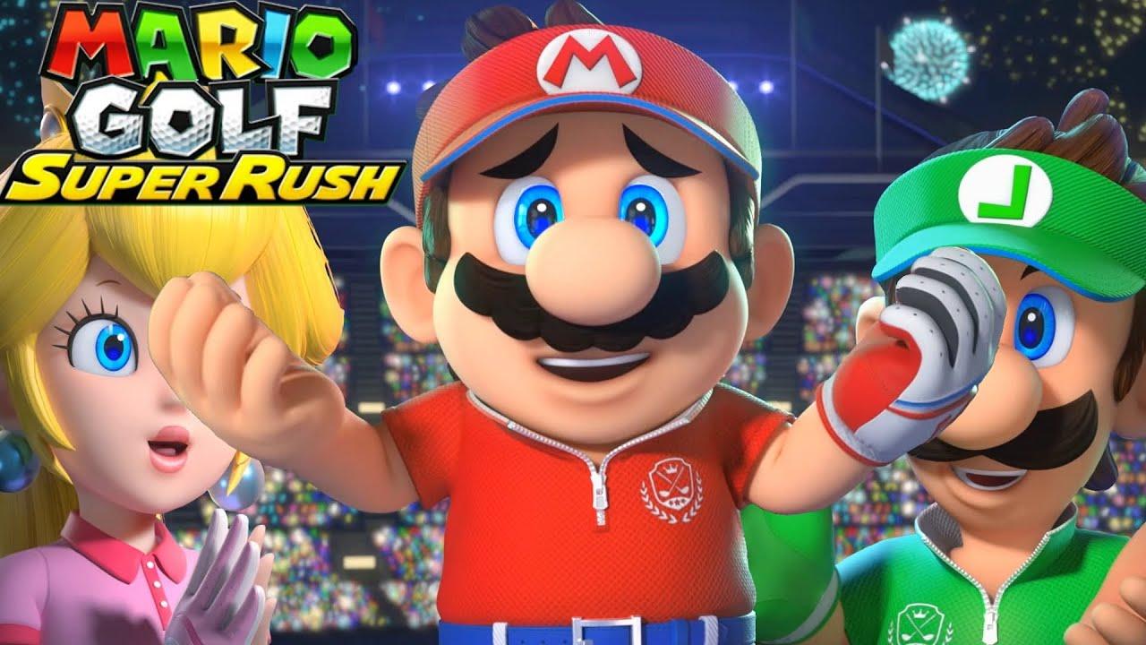 Mario Golf Super Rush - Full Game Walkthrough