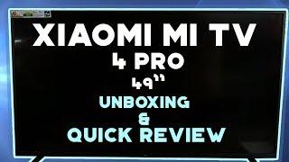 Xiaomi Mi TV 4A Pro Unboxing | Android Tv