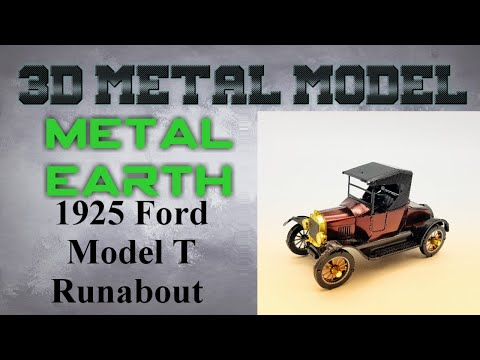 Metal Earth Build - 1925 Ford Model T Runabout