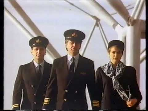 Air UK TV advert from the early 1990's