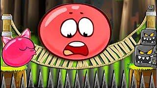 ЗОМБИ ПРЕВРАТИЛИ КРАСНЫЙ ШАР В КВАДРАТ !!! Несносный Шарик Plants vs zombies Red Ball 4 Мультик дети