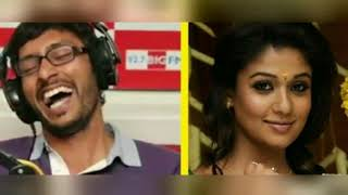 RJ balaji funny talk with nayanthara | latest troll | phone talk | nayanthara | RJ balaji