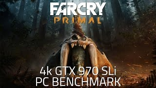 Far Cry Primal - 4K Benchmark | GTX 970 SLI