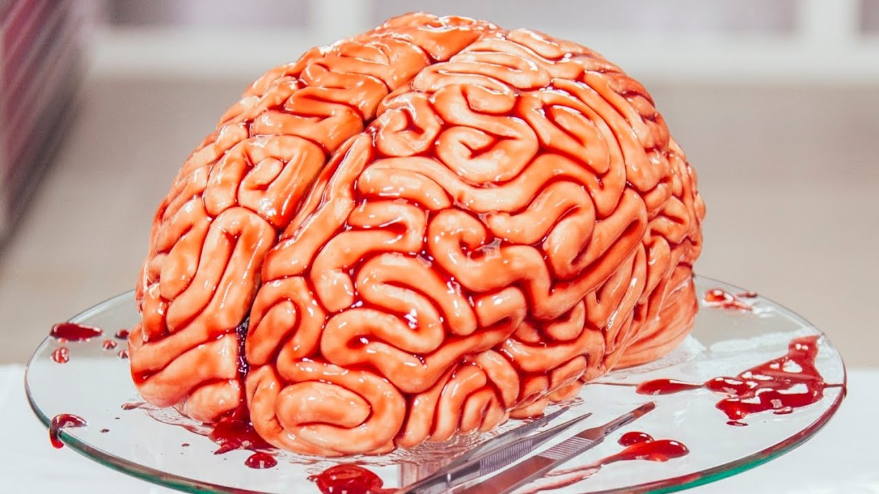 Human Brain CAKE! | Scary Halloween Cakes Compilation | How To Cake It Step By Step