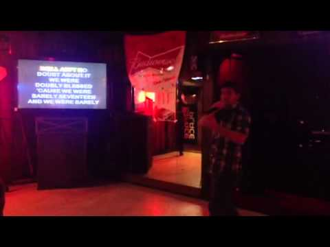 Karaoke- Paradise by the Dashboard Light
