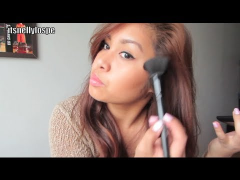 REVIEW: St. Lucia e.l.f Contouring Blush & Bronzing Powder + Powder brush