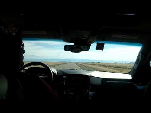 Driving through Wyoming.....