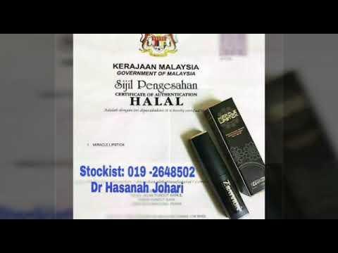 ZBAYVION ORGANIC LIPSTICK- CERTIFIED HALAL BY JAKIM MALAYSIA