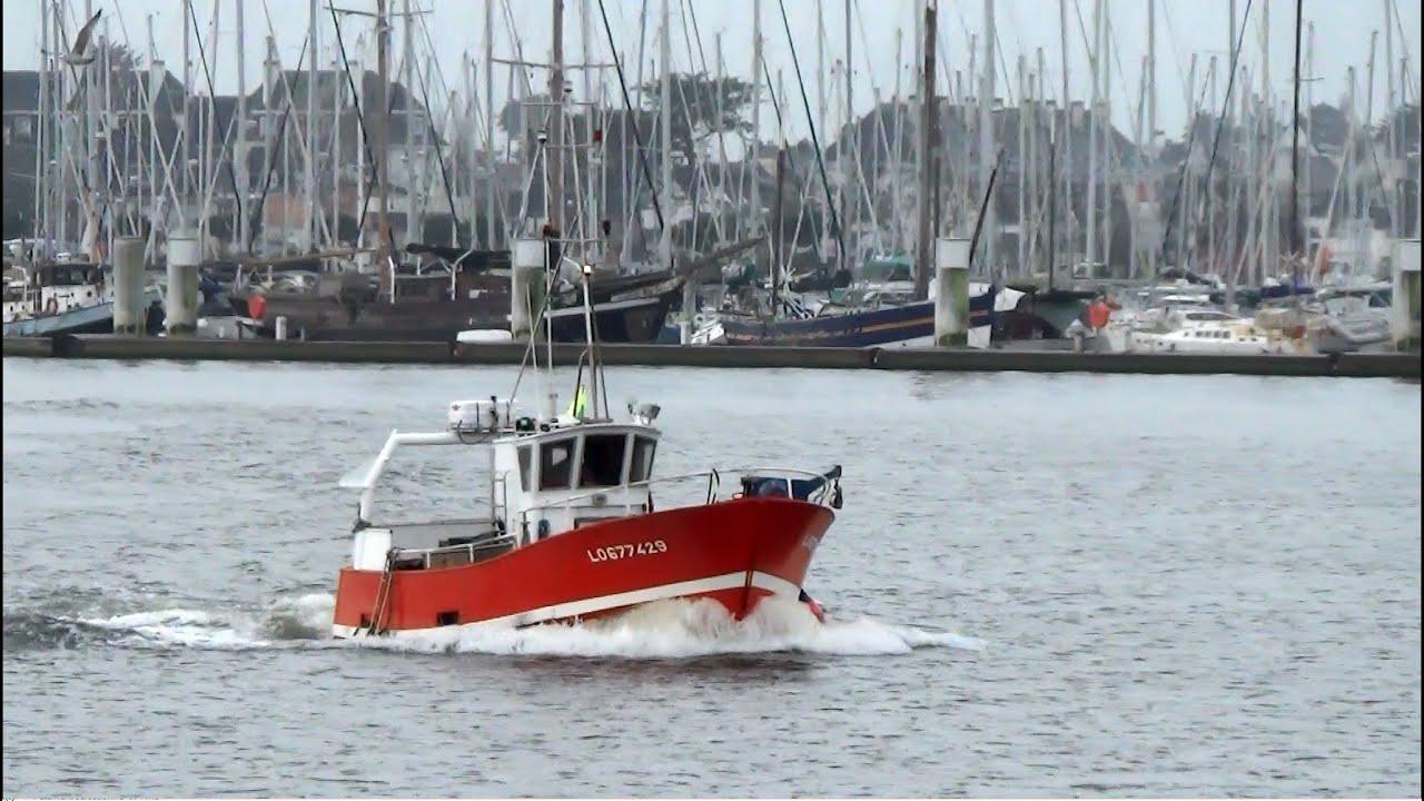 bateau de peche quartier de lorient