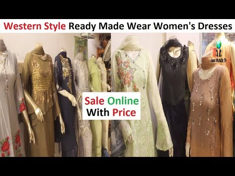 Western Style Pakistani Wear Women's Dresses With Price || Gold Makr 2 Shopping Mall