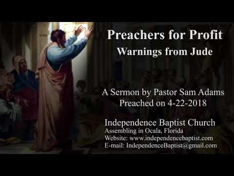 Preachers for Profit - Warnings from Jude