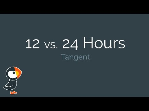 12 versus 24 Hour Time: What's the difference and where does it come from?