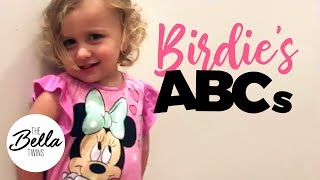 Birdie says her ABCs and 123s…and BRIE HINTS AT BABY 2!