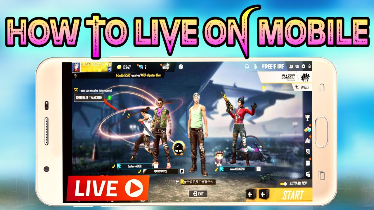 How to live stream FREE FIRE or PUBG ! How to livestream on Android phone ! YouTube Sikho !