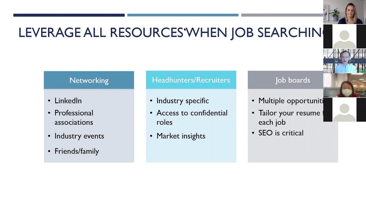 Job Search Strategies | Successful Resumes WEBINAR | RCHR