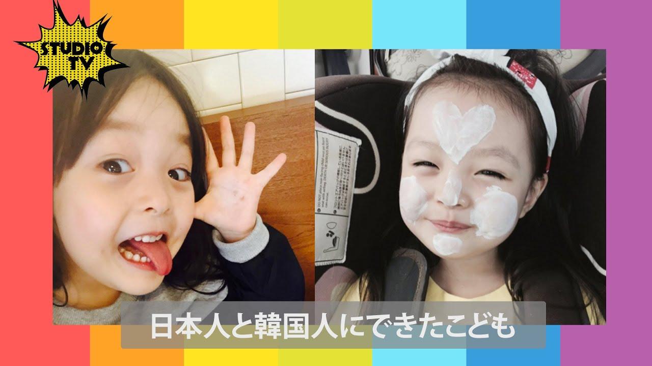 韓国人 美女画像 K-POP 日本人と韓国人の美男美女が子どもを生んだ結果ww