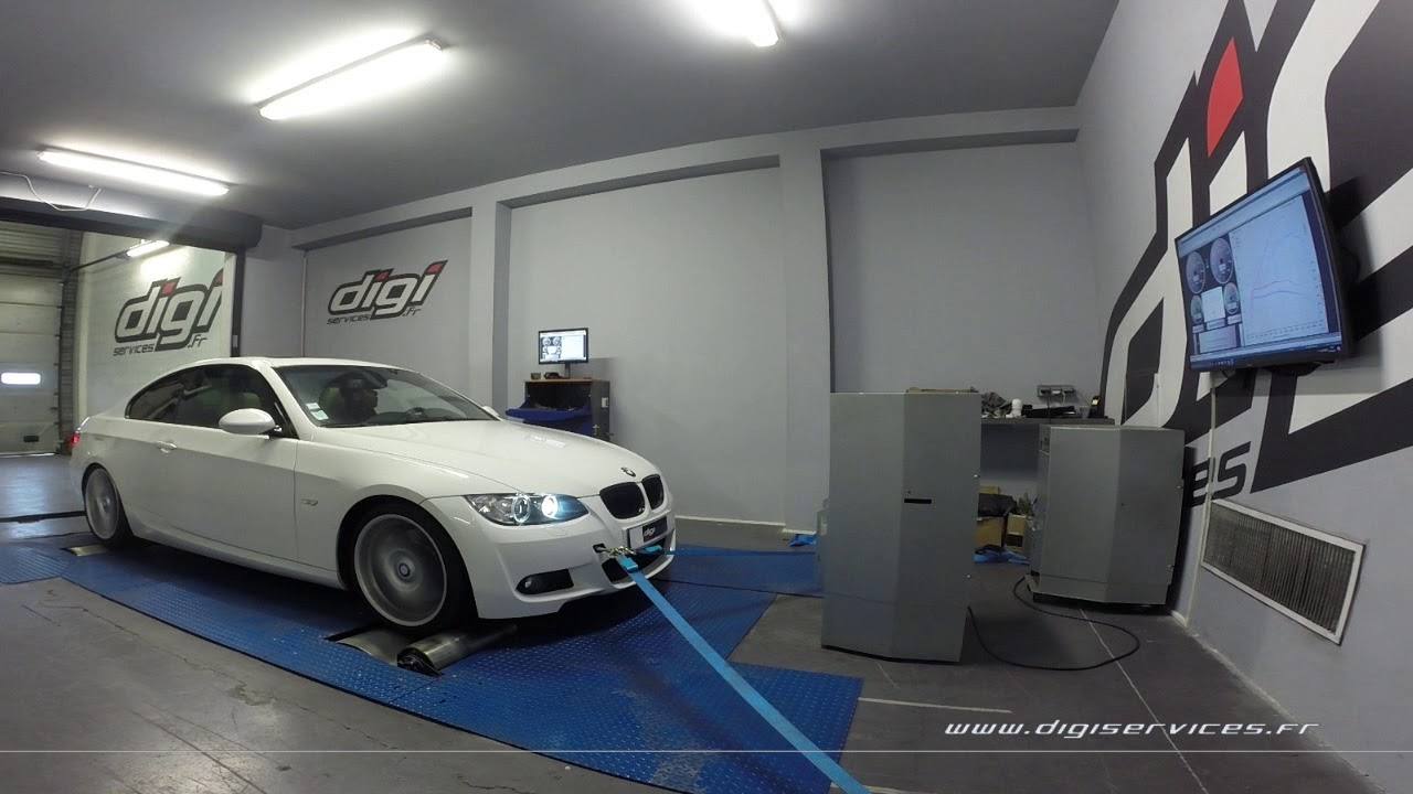 bmw 330d 245cv auto reprogrammation moteur 297cv digiservices paris 77 dyno youtube. Black Bedroom Furniture Sets. Home Design Ideas