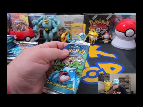 Chumlee Opens $2000 sealed base set booster box opening 'shadowless charizard hunt'