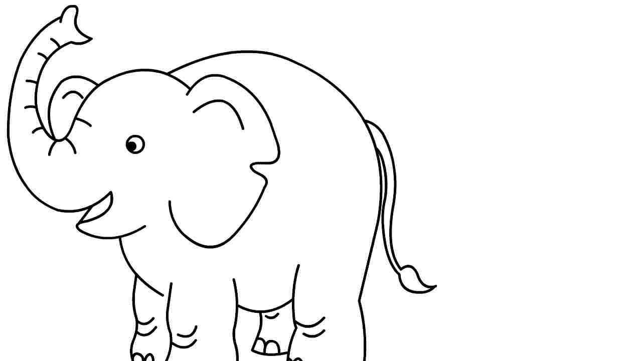 Uncategorized Draw An Elephant how to draw elephant for kids learn kids