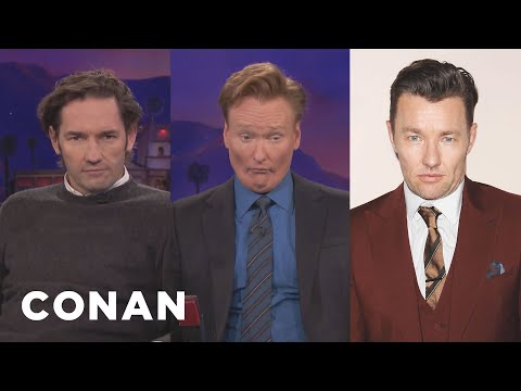 Conan Looks Just Like Nash & Joel Edgerton   CONAN on TBS