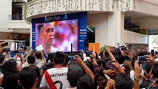 Así vivió hinchada peruana penal de Christian Cueva en Perú vs. Dinamarca (16/06/2018)