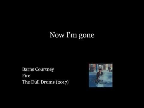 Barns Courtney - Fire (Lyrics Video)