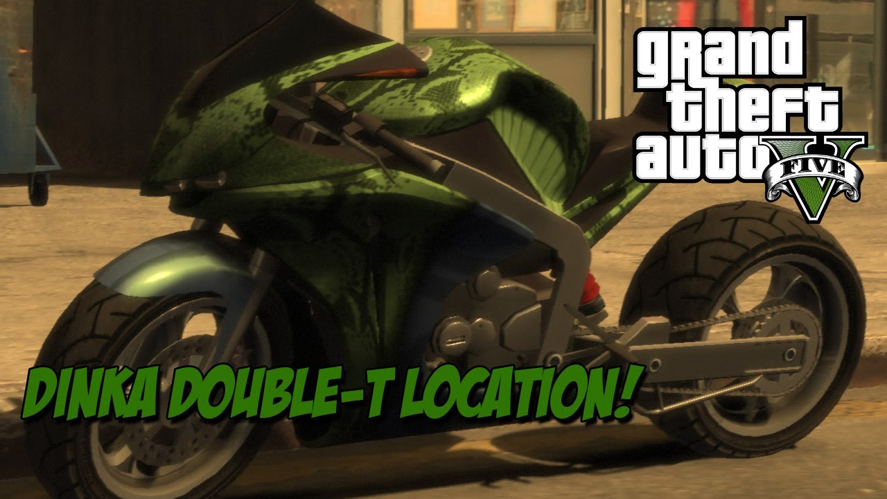 GTA V: Dinka Double-T Motorcycle Location