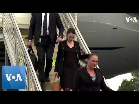New Zealand Prime Minister Jacinda Ardern Arrives in Christchurch Ahead of Victims' Burial