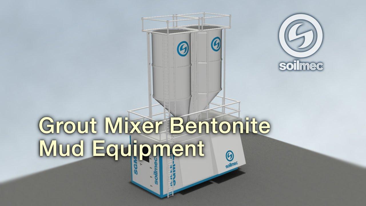 Soilmec SGM 45 Grout Mixer Slurry / Bentonite Equipment