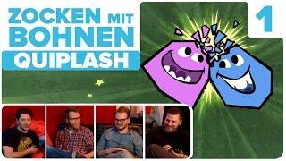 [1/2] Quiplash mit Simon, Nils, Etienne und Hauke | Zocken mit Bohnen | 09.11.2015