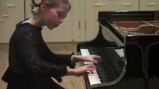 Czerny op 299 no14 Anastasia Makhamendrikova