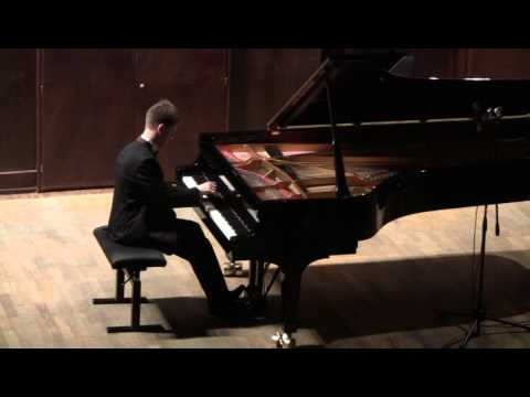 J.S. Bach - Art of fugue. V. Gryaznov. Live recital, part 1