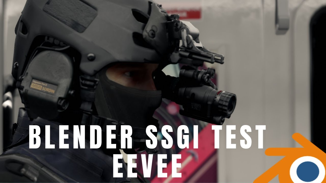 Blender SSGI Test