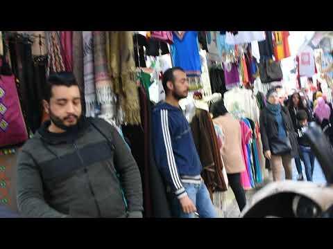 A walk through the Medina in Tunis, Tunisia part 1