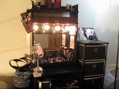 DIY Vanity with Remote Control Lighting! - DIY Vanity With Remote Control Lighting! - YouTube
