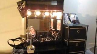 Diy Vanity With Remote Control Lighting!