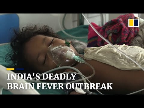Deadly brain fever kills over 110 children in India in less than a month